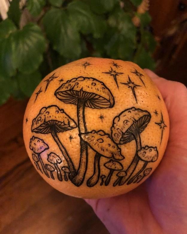 #6   Is Inking Oranges a New Tattoo Art Trend?   Brain Berries