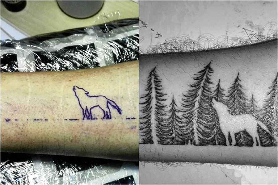 Creative Scar Tattoo Cover Ups 9