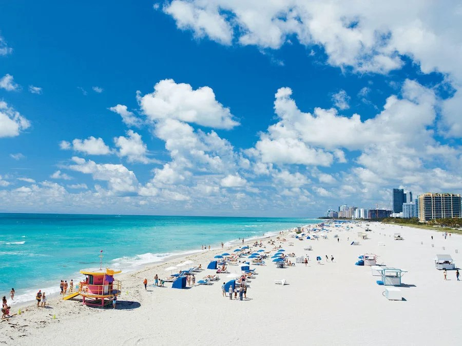 1.Miami Beach, Florida | Top 10 Spring Holiday Destinations In US For 2020 | Brain Berries