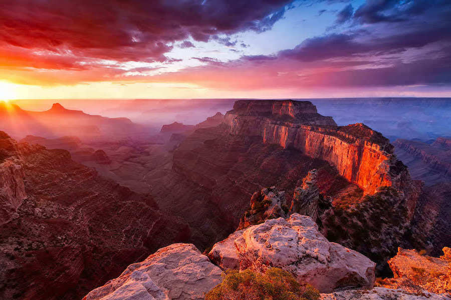 10.The Grand Canyon, Arizona | Top 10 Spring Holiday Destinations In US For 2020 | Brain Berries