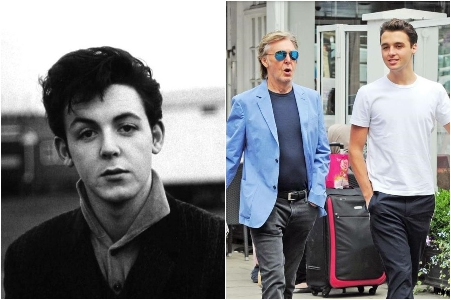 Paul McCartney and Arthur | 8 Celebrity Grandchildren Who Look Like Their Grandparents | Zestradar