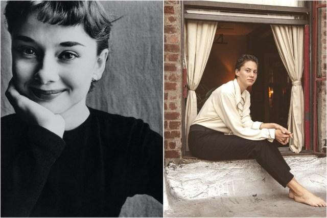 أودري هيبورن وإيما |  8 أحفاد المشاهير الذين يشبهون أجدادهم |  زيسترادار