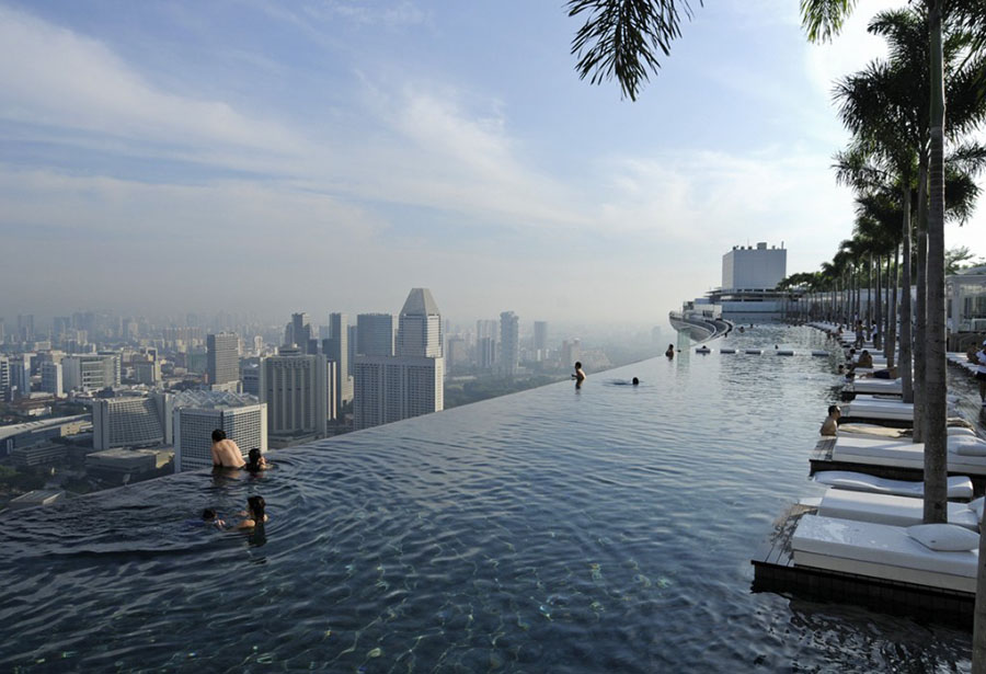 Top 7 Most Mind-Boggling Swimming Pools in the World #3 | Brain Berries
