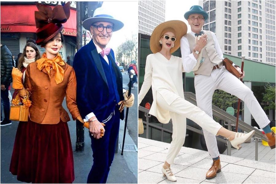 #3 | Elderly German Couple Whose Fashion Style Is Pure Fire | Zestradar