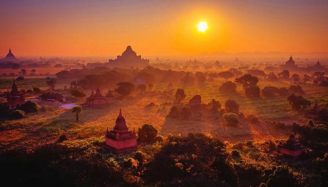 باغان (ميانمار) | 10 من أفضل أماكن غروب الشمس في العالم | زيسترادار