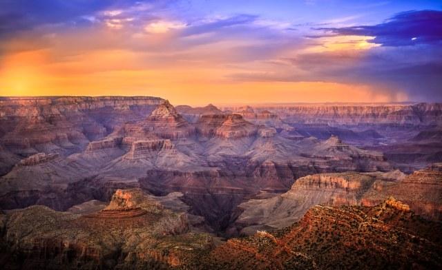 جراند كانيون (الولايات المتحدة الأمريكية) | 10 من أفضل أماكن غروب الشمس في العالم | زيسترادار