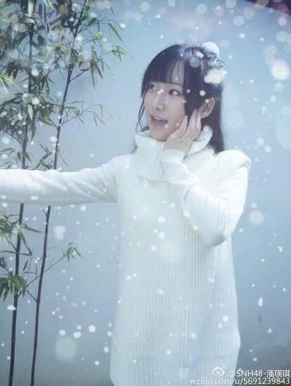 潘瑛琪 - SNH48成員玩直播胸前小粉紅疑曝光、高顏值純白少女星羽羽