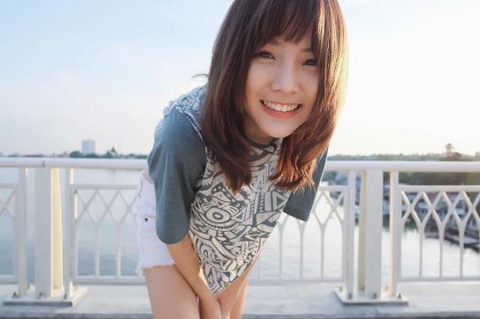 Pornnppan Pornpenpipat - 最常被神泰國正妹Nene、高顏值清新萌DJ女神常被誤為認日韓妹