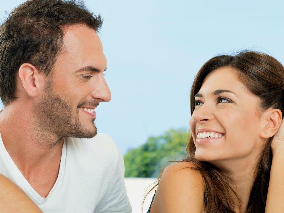 Body Language Signs Men Do While Flirting