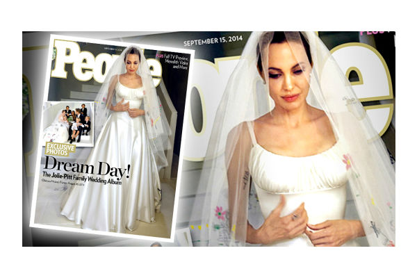 Brangelina - A Wedding We've All Been Waiting For (Angelina Jolie Brad Pitt Wedding)