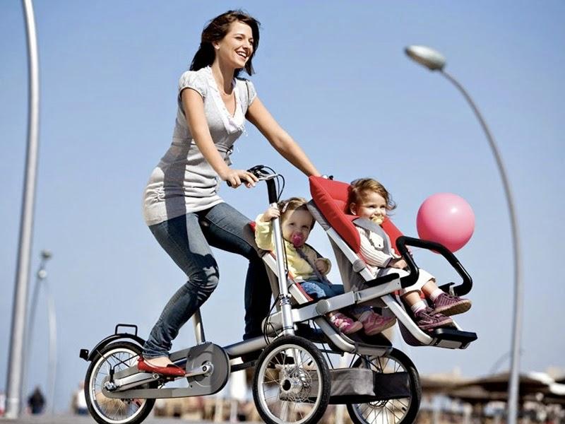 1. Bike stroller