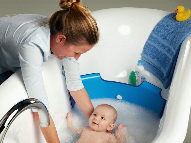 3. A bathtub divider