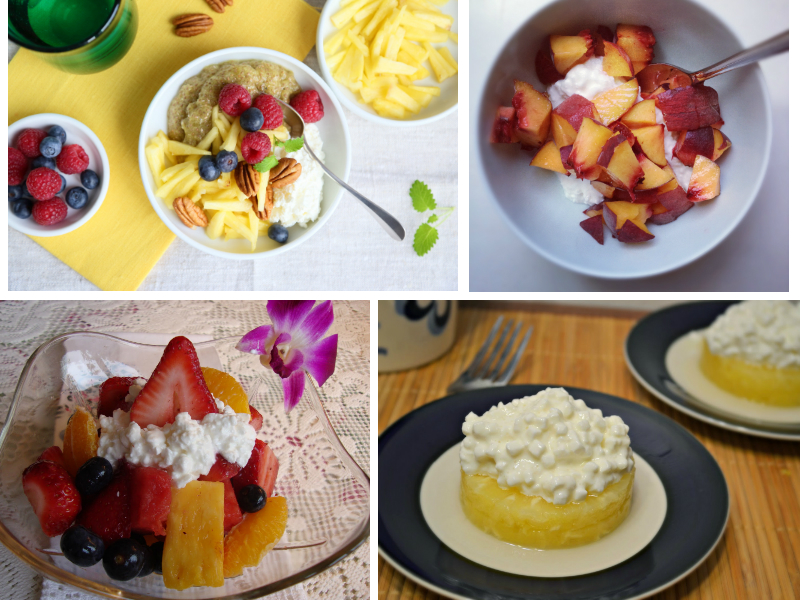 Cottage Cheese with Pineapple