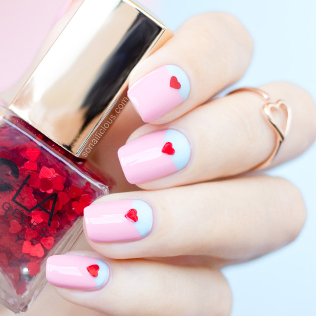 20 Lovely Nail Art Ideas For Valentines Day 01