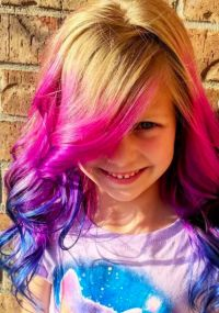 People Are Letting Kids Dye Their Hair, And The Internet ...