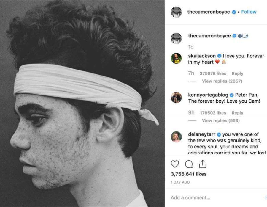 final Instagram post | Cameron Boyce's Untimely Death – A Tribute | Her Beauty