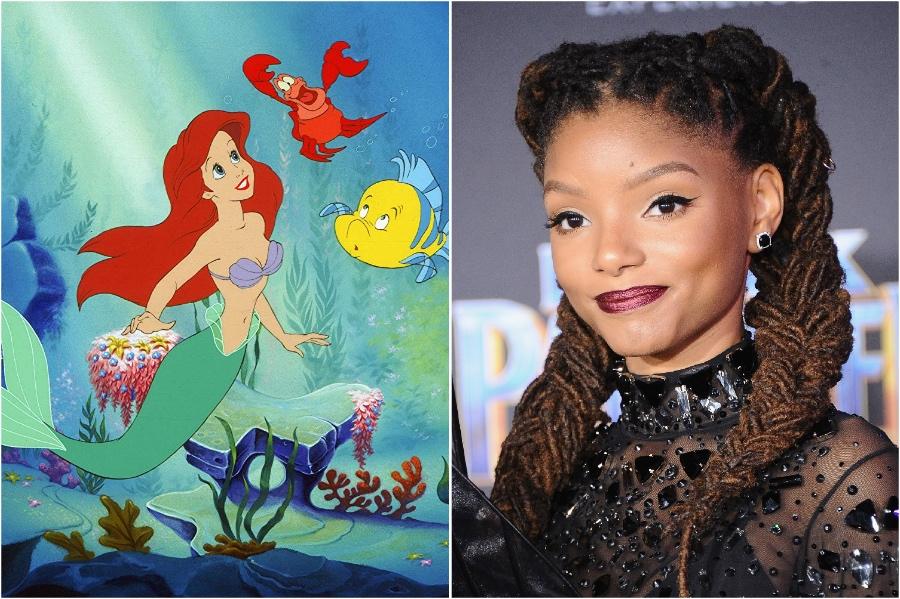 Halle Bailey as  Little Mermaid | HerBeauty