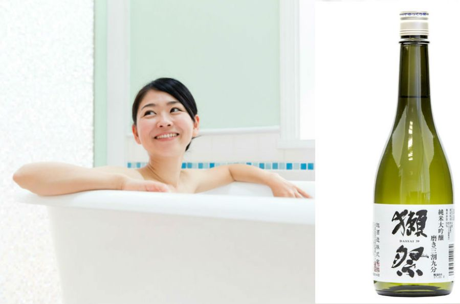 Sake bath for dewy skin | 9 Beauty Rituals From Around The World | Her Beauty