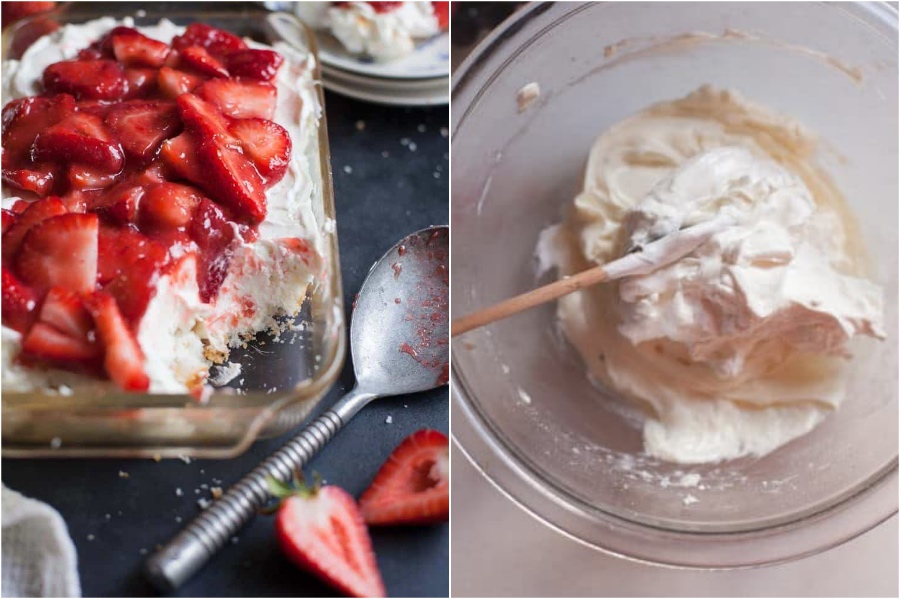 Strawberry Angel Food Lush | 6 Best Strawberry Recipes To Try This Summer | Her Beauty