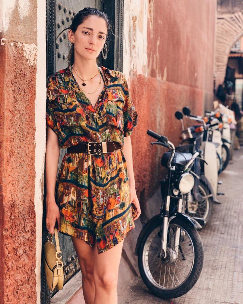 Городская этника   Летнее платье   Her Beauty