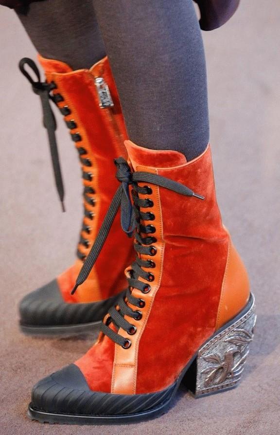 Ботинки на шнуровке #2 | 6 пар обуви, которые тебе действительно нужны этой осенью | Her Beauty