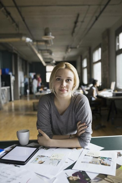Check your workplace circle #2   6 Ways to Be More Positive at Work   Her Beauty