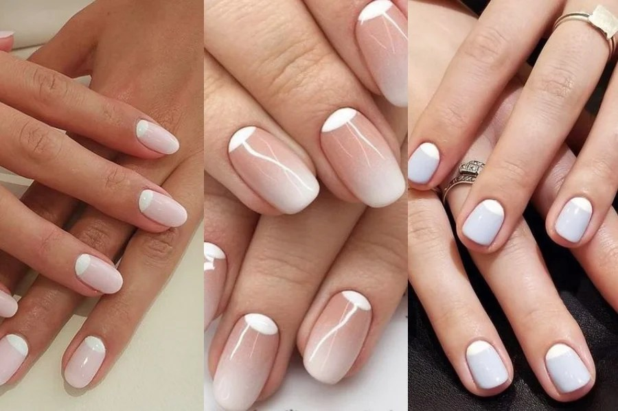 Reverse French Manicure | 8 Fresh French Manicure Design Ideas | Her Beauty
