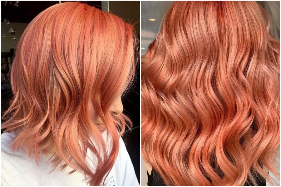 Living Coral | 15 Trendy Red Hair Ideas To Try | Her Beauty