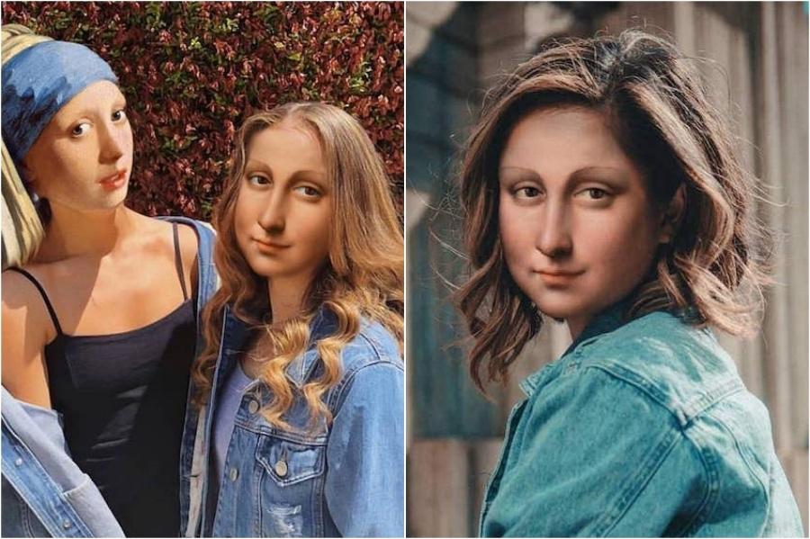 Mona Lisa selfies | Mona Lisa Reimagined In The Modern World Excerpt | Her Beauty