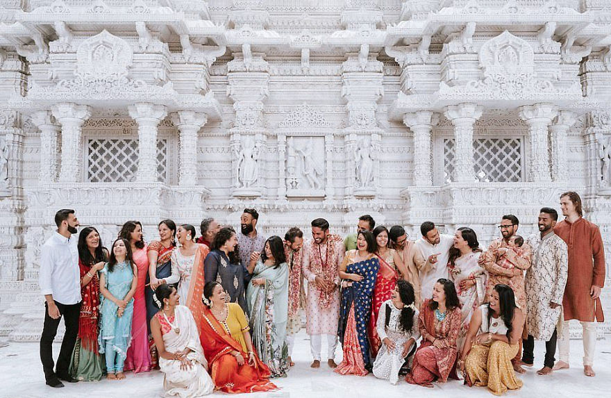 Gay Couple Immortalizes Gorgeous Traditional Indian Wedding #8 | Her Beauty