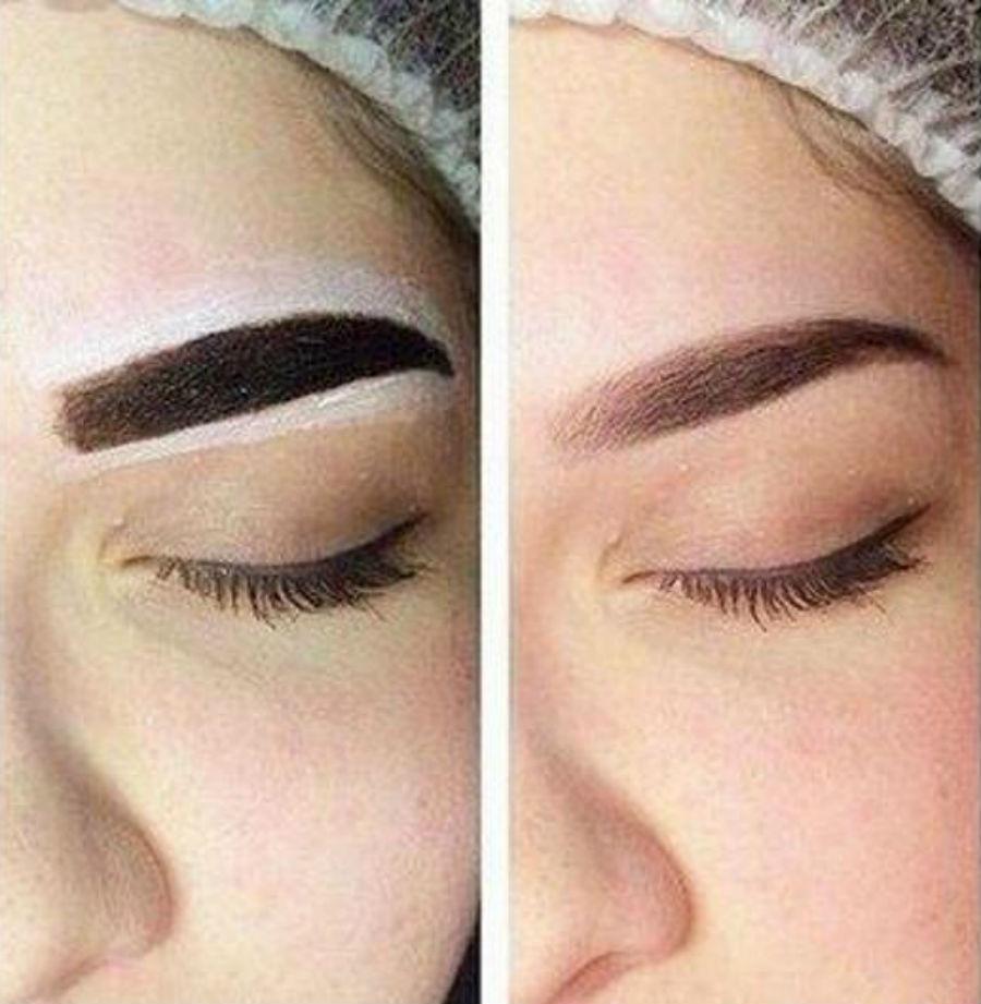 Покраска бровей краской  | Как красить брови, чтобы они выглядели естественно | Her Beauty