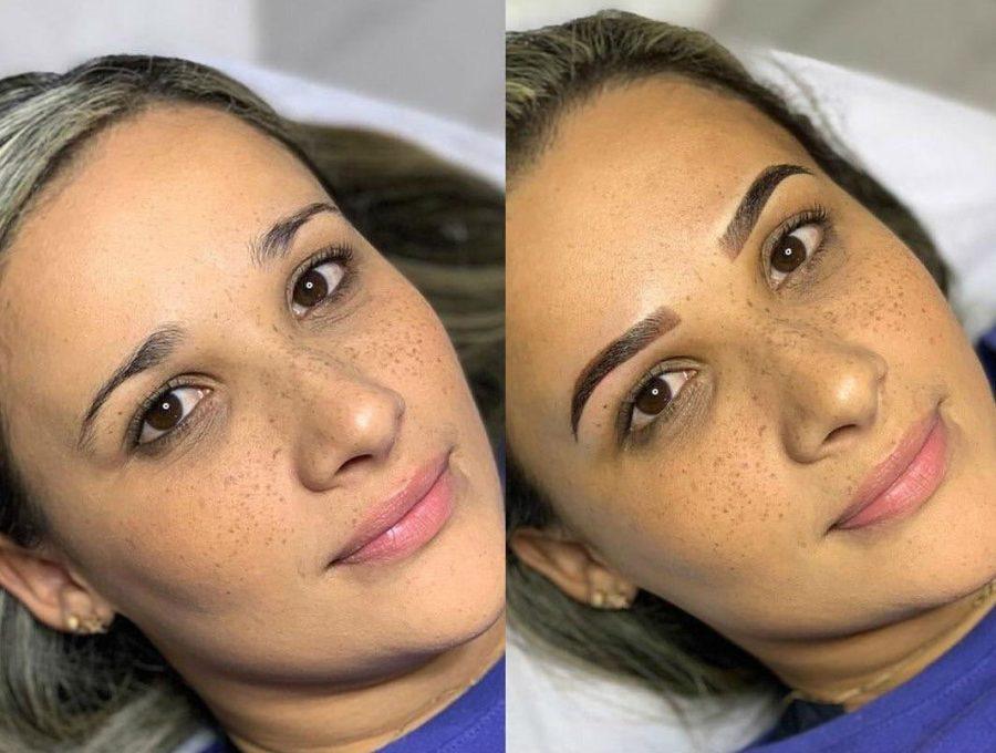Микроблейдинг | Перманентный макияж бровей: плюсы, минусы и основные виды | Her Beauty
