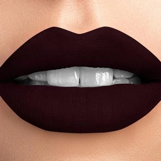 Opt for plum tones | 10 Lipstick Tricks to Make Your Teeth Look Whiter | Her Beauty
