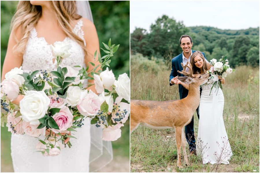 A Wedding Photoshoot To Remember Gets Interrupted By A Deer #6   Her Beauty