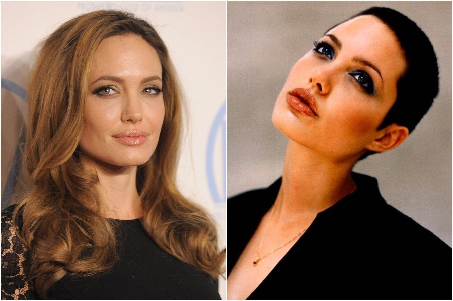 Angelina Jolie | 15 Stars That Shaved Their Head And Rocked It | Her Beauty