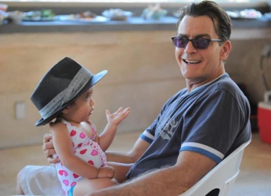 Charlie Sheen | 12 Celebrity Grandpas With Their Grandchildren Will Melt Your Heart | Her Beauty