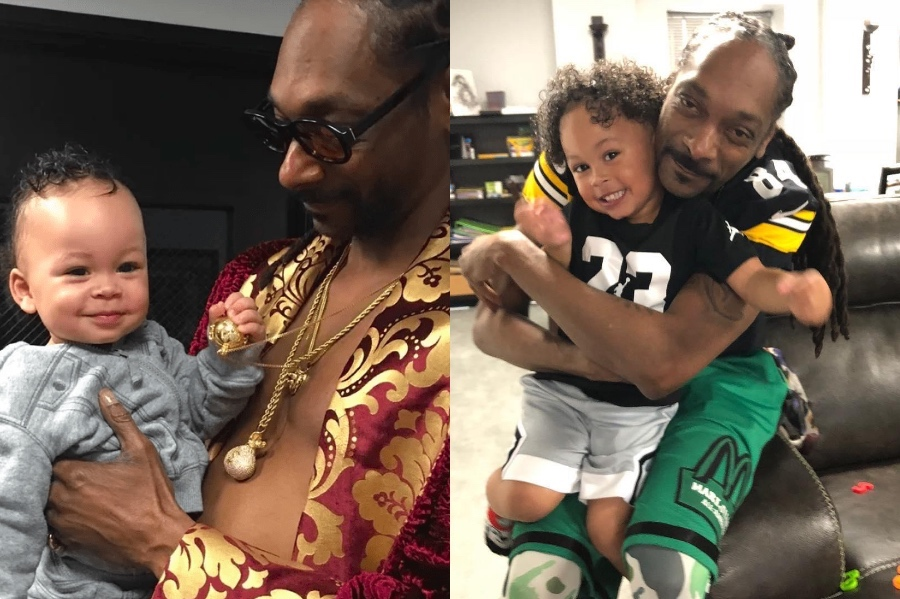 Snoop Dogg | 12 Celebrity Grandpas With Their Grandchildren Will Melt Your Heart | Her Beauty