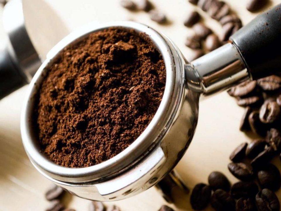 Ground coffee  | 10 Best Natural Skin Exfoliators | Her Beauty