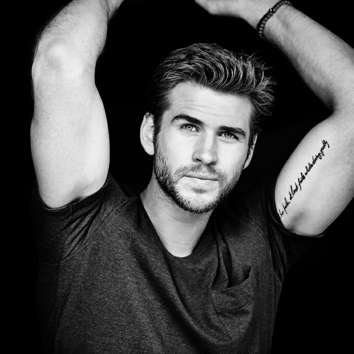 Liam Hemsworth   6 New GenerationMale Hollywood Hotties   Her Beauty