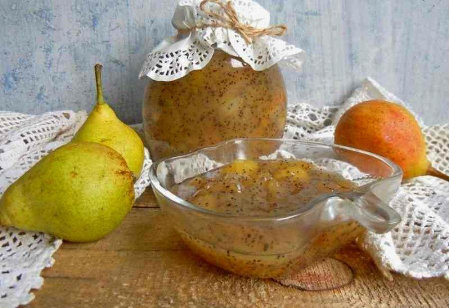 Варенье из груш с маком и ванилью  Что приготовить с грушей? 10 интересных рецептов   Her Beauty