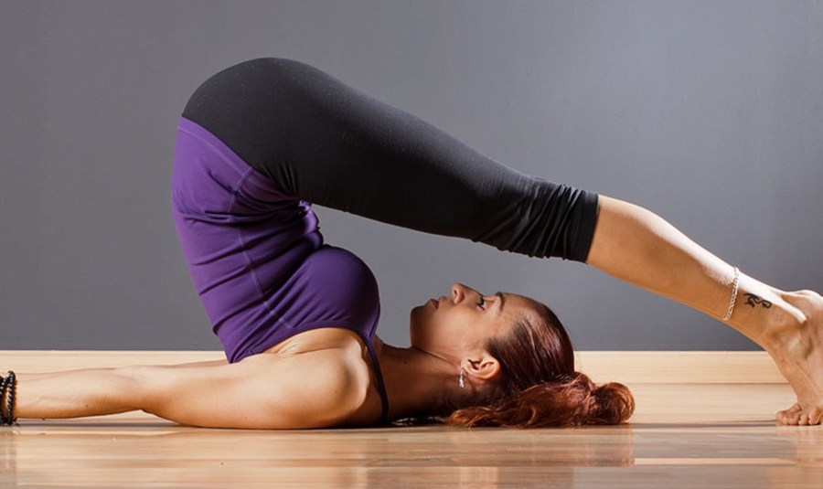 Plow pose   15 Morning Yoga Poses For Beginners   Her Beauty