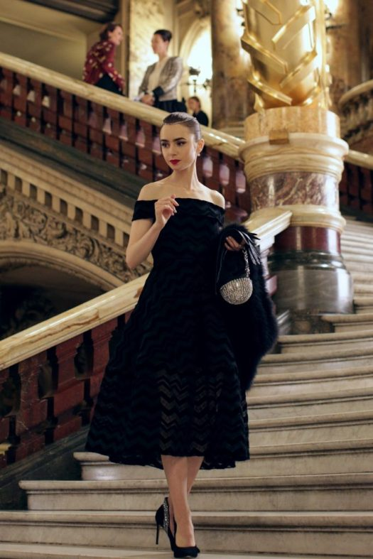 10 Best Looks from Emily in Paris 》 Her Beauty