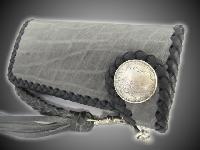 オールドバイカーウォレット(革財布)