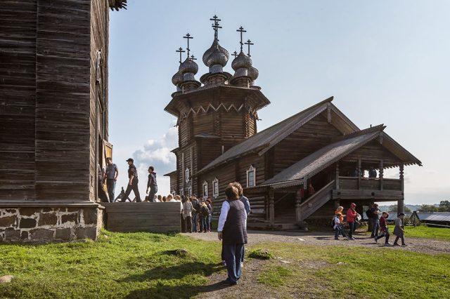 Изначально церковь была зимней, отапливаемой. Источник: Игорь Георгиевский
