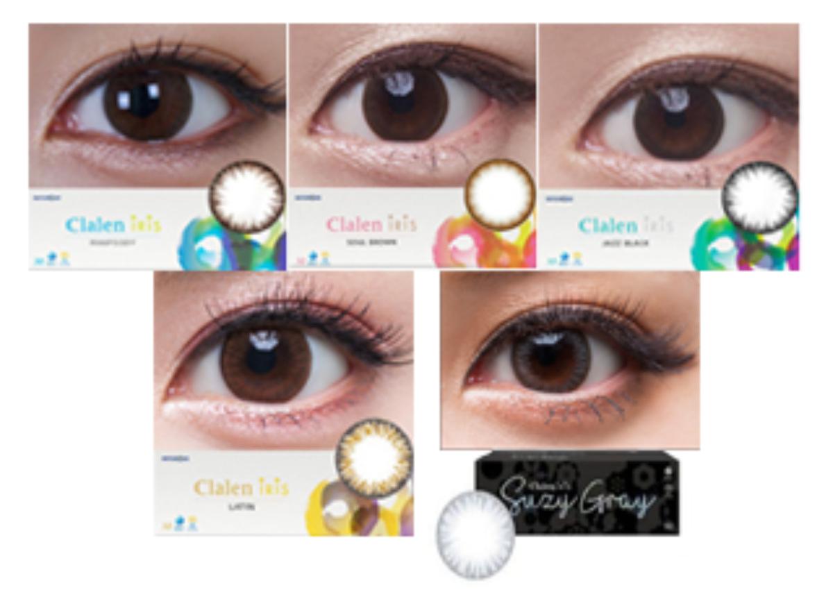 Clalen 1 Day Iris Contact Lenses 30 Pack Spherical ...