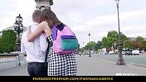 PORNO ACADEMIE - Lana Rhoades seduces and bangs French principal