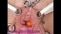 Pain Vagina Bondage with Toilet Brush & Fisting