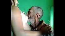 Old man fucks a milf