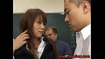 Megu Ayase Lovely Asian teacher gets