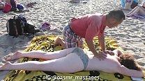 Shirtless on Public Beach